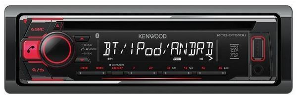 Отзывы KENWOOD KDC-BT510U