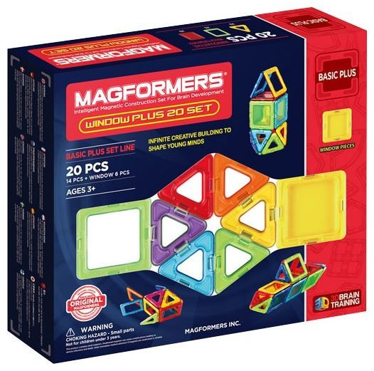Отзывы Magformers Window Basic Plus 715001-20