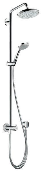 hansgrohe croma 220 showerpipe reno 27224000 hansgrohe. Black Bedroom Furniture Sets. Home Design Ideas