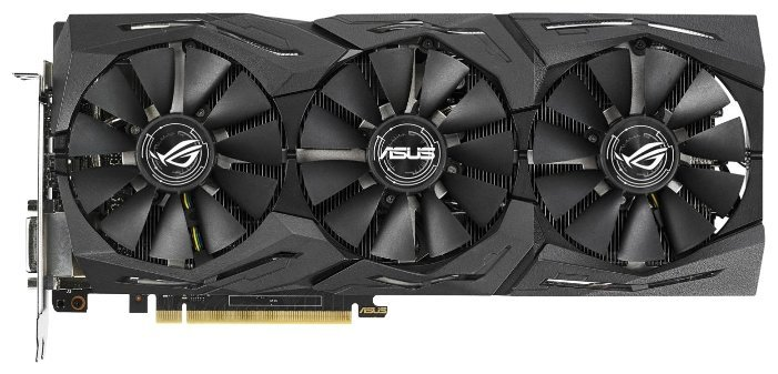 Отзывы Видеокарта ASUS GeForce GTX 1070 Ti 1607MHz PCI-E 3.0 8192MB 8008MHz 256 bit DVI 2xHDMI HDCP Strix Gaming Advanced edition
