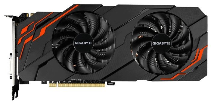 Отзывы Видеокарта GIGABYTE GeForce GTX 1070 Ti 1607Mhz PCI-E 3.0 8192Mb 8008Mhz 256 bit DVI HDMI HDCP WINDFORCE