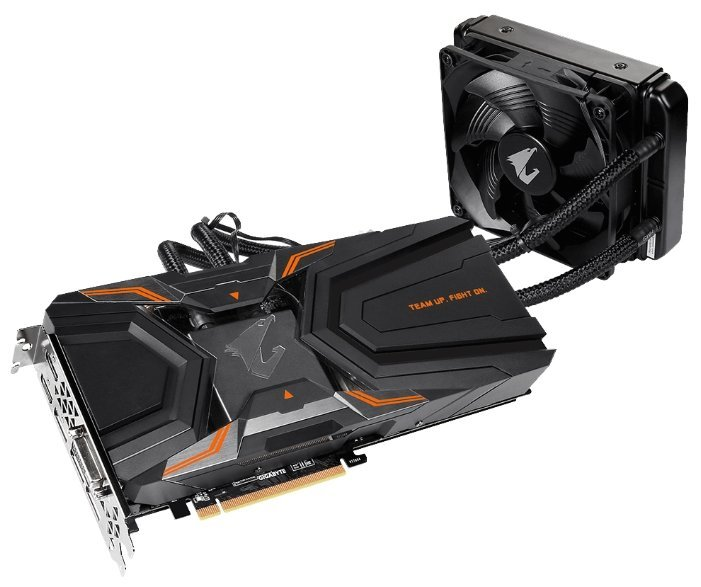 Отзывы Видеокарта GIGABYTE GeForce GTX 1080 Ti 1632Mhz PCI-E 3.0 11264Mb 11448Mhz 352 bit DVI 3xHDMI HDCP Aorus Waterforce Xtreme Edition