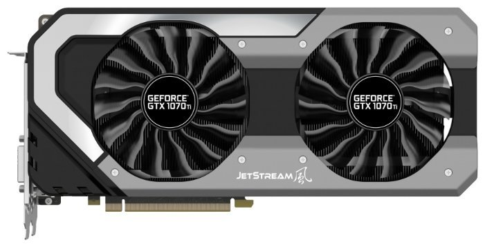 Отзывы Видеокарта Palit GeForce GTX 1070 Ti 1607MHz PCI-E 3.0 8192MB 8000MHz 256 bit DVI HDMI HDCP JetStream