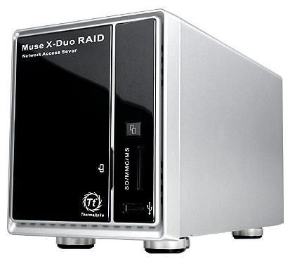 Отзывы Thermaltake Muse X-Duo RAID