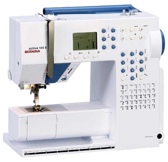 Отзывы Bernina Activa 40 S Швейные машины Bernina Подробные Magnificent Bernina Activa 145 Sewing Machine