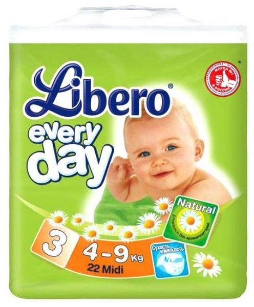 f5c5855662d3 Отзывы Libero Everyday 3 (4-9 кг)   Подгузники Libero   Подробные ...