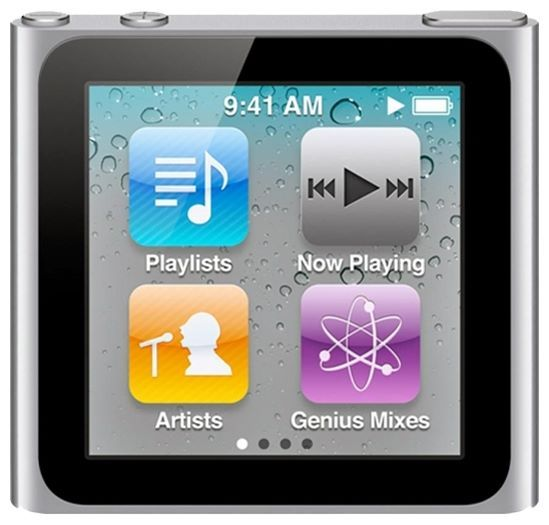 Отзывы Apple iPod nano 6 8Gb