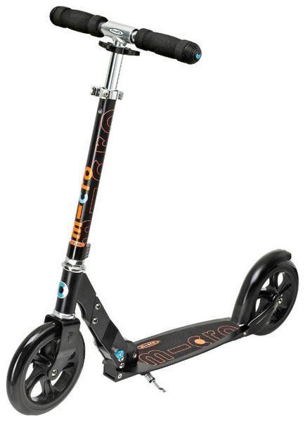 micro scooter black sa0034 micro. Black Bedroom Furniture Sets. Home Design Ideas