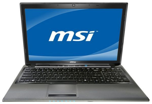 MSI CR650 Notebook ATI Hudson M1 VGA Windows Vista 32-BIT